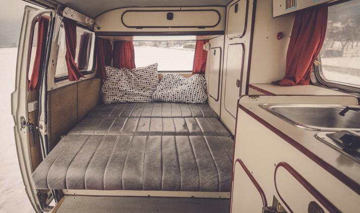 Sleeping Facilities Balkan Campers